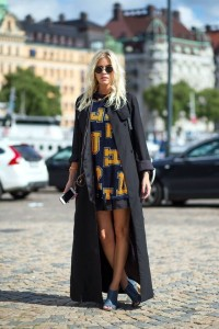 Fall trends on the streets of Stockholm