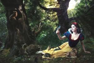 Disney hősök Annie Leibovitz szemével