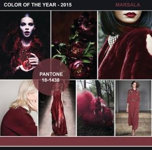 """A 2015-ös év színe a """"Marsala"""""""