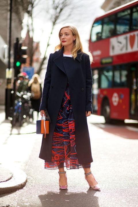 London utcáin a divathetek alatt