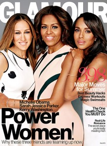 Michelle Obama az amerikai Glamour címlapján