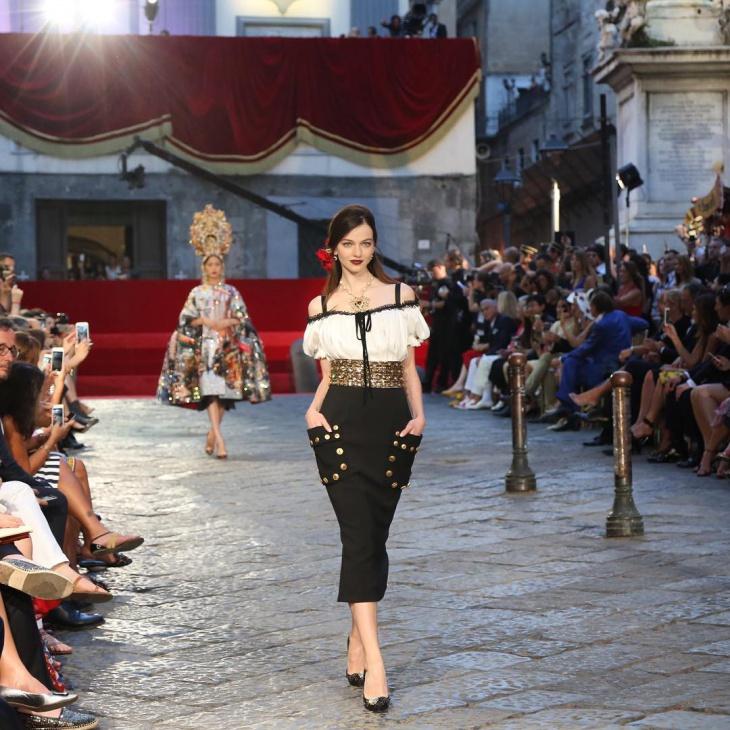 A Dolce & Gabbana meghódította Nápolyt