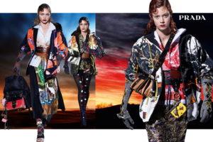 27 modell a Prada őszi kampányában