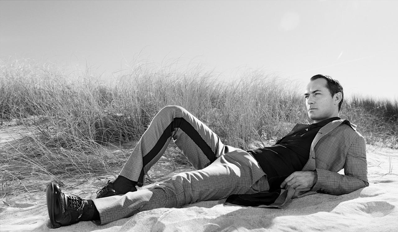 Jude Law a Prada új kampányában