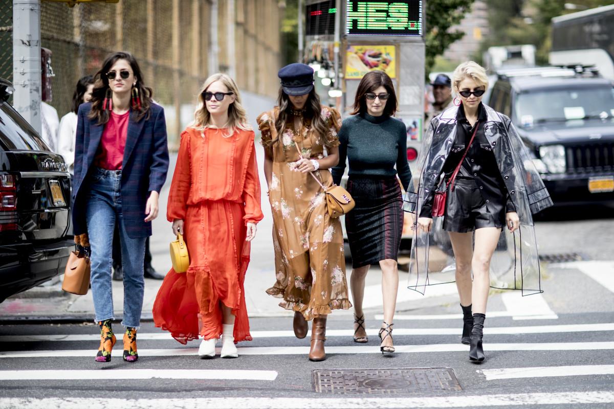 Street style finomságok a Fashion Week-ről