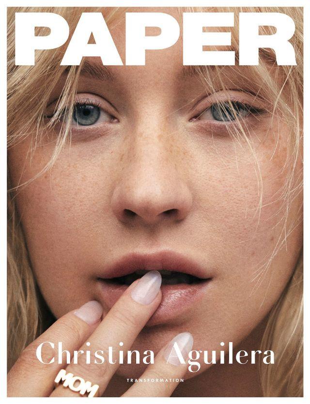 Christina Aguilera visszafordítja az időt
