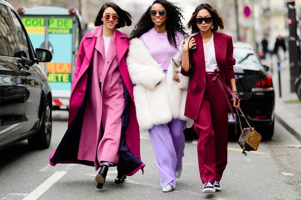 Fashion Week utcai stílusban
