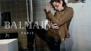 Sergei Polunin dancing for Balmain