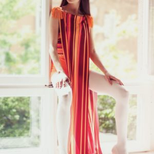 THE SLIT MAXI DRESS
