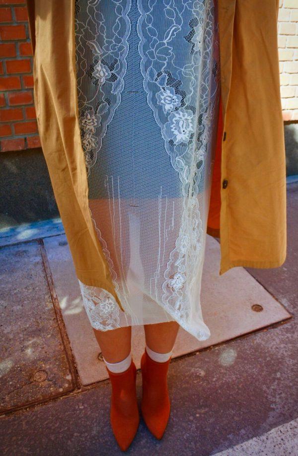 A csipke ruha