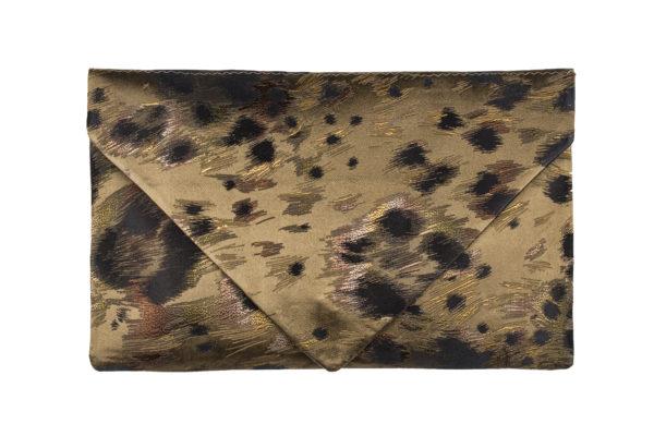 Borítéktáska - ocelot bronze
